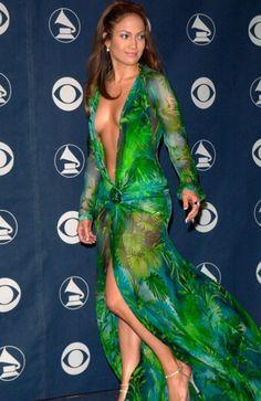 Jennifer Lopez - Versace. 2000.
