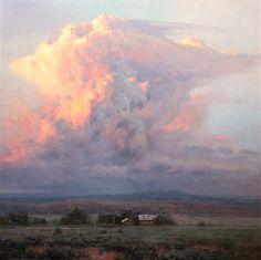 """Michael Godfrey """"Thunder Light"""" 12x12....New Mexico"""