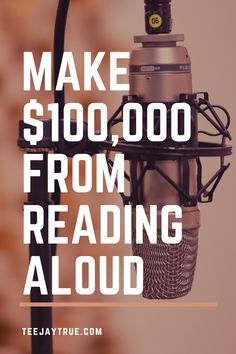 Learn how to make a full-time passive income from narrating audiobooks. Hobbies That Make Money, Show Me The Money, Ways To Earn Money, Earn Money From Home, Earn Money Online, Way To Make Money, Make Money Blogging, How To Make, Legit Work From Home
