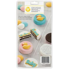 Baby Cookie Candy Mold Fondant Cookies, Baby Cookies, Cookies Et Biscuits, Wilton Cake Decorating, Cake Decorating Tools, Fondant Tools, Wilton Cakes, Candy Molds, Baby Shower