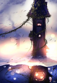 Tower of the Lost by ryky.deviantart.com on @DeviantArt