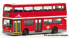 Daimler Fleetline DMS B20 Company London General Destination 37 to Clapham Common Station Registration THX 505S Fleet Number DMS 2505 Scale 1 76