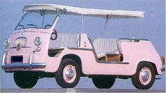Fiat multipla jolly pink