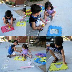 Preschool Tracing Activity... toddler too!