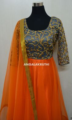 Anarkali designs by Angalakruthi-8884347333