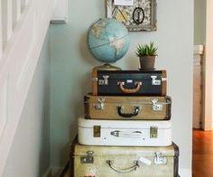 Travel themed room