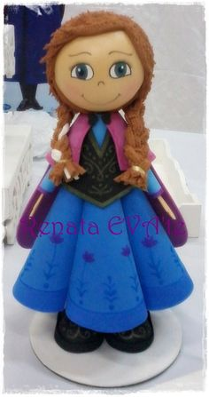 Boneca da personagem Princesa Anna, filme Frozen
