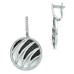 *Extra 10% off on our store plus No Shipping Charges! Period. Sterling Silver &... Check it out here! http://shirindiamond.net/products/sterling-silver-cz-brilliant-embers-circle-dangle-hinged-hoop-earrings-qmp948?utm_campaign=social_autopilot&utm_source=pin&utm_medium=pin