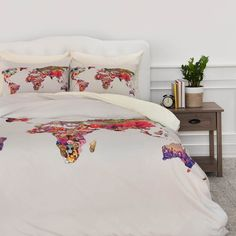 Bianca Green Its Your World Duvet Cover | DENY Designs Home Accessories