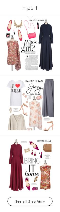 """Hijab 1"" by sabinakopic ❤ liked on Polyvore featuring Calvin Klein, Nine West, Palm Beach Jewelry, Christian Dior, Chanel, MAC Cosmetics, Phase Eight, La Garçonne Moderne, Michael Kors and jane"