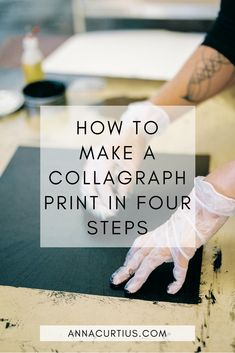 In this post I'll share my collagraph, or collograph as it also can be spelled, printmaking process with you. I'm fascinated by the unpredictability of collagraph printing… Mix Media, Linocut Prints, Art Prints, Block Prints, Collagraph Printmaking, Art Graphique, Tampons, Art Classroom, Teaching Art