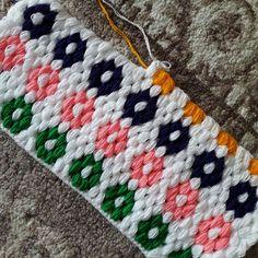 Lifler Puff Stitch Crochet, Crochet Ripple, Afghan Crochet Patterns, Love Crochet, Crochet Motif, Crochet Designs, Crochet Stitches, Knit Crochet, Knitting Patterns