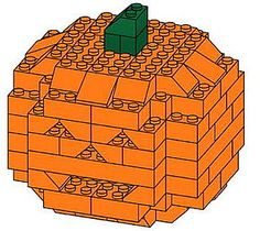 Geek Tip: How to Build a Lego Jack-o'-Lantern! | POPSUGAR Tech