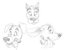 Character Design: Dogs/Wolves on Pinterest | 92 Pins www.pinterest.com236 × 177Search by image Cartoon Fundamentals: The Secrets in Drawing Animals