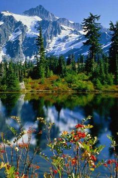 Altai region, Siberia, Russia. The glorious mountain scenery of Altai