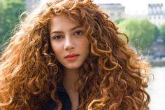 Actress Jenna Thiam. Portrait by Stéphane Israël.