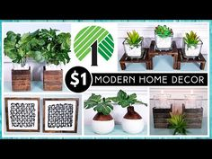 Dollar Tree Decor, Dollar Tree Crafts, Tree Wall Decor, Diy Wall Decor, Boho Diy, Boho Decor, Modern Boho, Modern Decor, Tree Designs