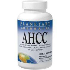 comprar AHCC 500MG 60 CAPSULAS PLANETARY HERBALS