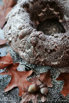 Autumn Spiced Pumpkin Hot Chocolate Bundt Cake - #BundtBakers   Faith, Hope, Love, and Luck Survive Despite a Whiskered Accomplice
