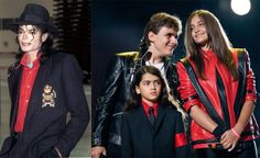 Michael Jackson & children, Prince Michael, Paris & Blanket