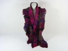 Damenschal bunt warm Fransen Accessoires Herbst Winter Geschenk Schal Scarf