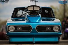 Marty Robertson Plymouth Barracuda Blown Pro Drag Radial