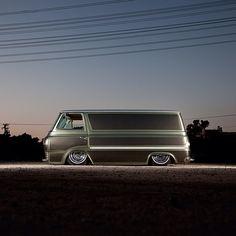 Megadeluxe - Shot Coby Gewertz' 63 Econoline Van today down in...
