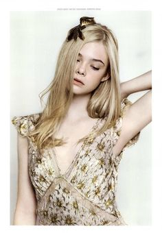 Elle Fanning, born April 9th.  Aries is the child of the zodiac.  She is stoic, impatient, and fearless.