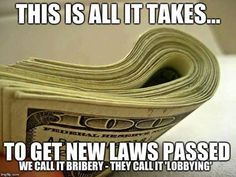 #LobbyistsRunAmerica #EndThisOligarchy #VoteSanders2016
