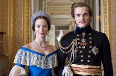 Queen Victoria and Prince Albert, true love match.  Really enjoyed this movie.