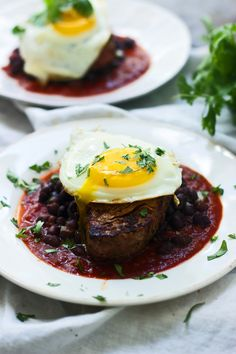 Mexican Steak and Eggs - Cooking for Keeps