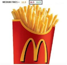 McDonald's fries syns