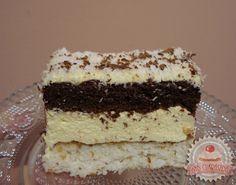 Hungarian Recipes, Hungarian Food, Vanilla Cake, Coco, Nutella, Tiramisu, Food And Drink, Dessert Recipes, Cooking Recipes