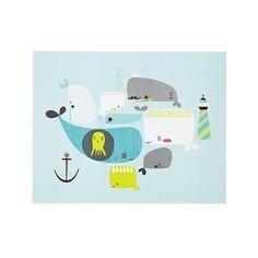 cute whale print!