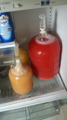 Hey everyone! Thanks for checking out this Strawberry Mead Instructable. It's not very hard and makes a really delicious mead when it's finished. This calls for the. Brewing Recipes, Beer Recipes, Alcohol Recipes, Homebrew Recipes, Recipies, Homemade Alcohol, Homemade Liquor, Wine And Liquor, Wine And Beer