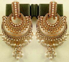 True Jewelz: Chand Bali Ear Rings