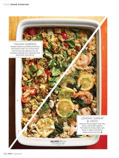 """""""The new Casserole"""" from Better Homes and Gardens, August 2017. Read it on the Texture app-unlimited access to 200+ top magazines."""