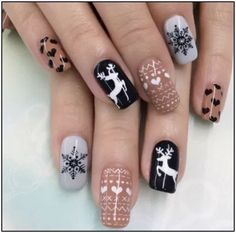 31 Elegant Nails For 2019 Christmas – Nails art