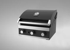 Grandhall Premium GT inbouw barbecue is geschikt voor overkappingen waardoor in het vroege voorjaar en in het late najaar nog lang buiten gezeten kan worden
