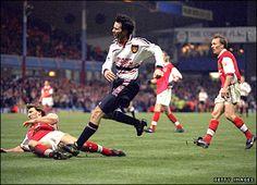 THAT goal against Arsenal
