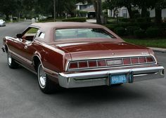 1975 Ford Thunderbird Copper Luxury group