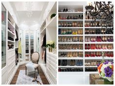 13 Things You Should Have In Your Closet By 30: 1. Something Cozy Underfoot 2. Great Lighting 3. A System For Your Shoes 4. A Place For Treasured Items 5. And A Designated Space For Everything Else 6. Pliios And Acrylic Shelf Dividers 7. Hardware 8. A Mirror 9. Walls Painted In A Color You Love 10. A Scent 11. Hooks 12. Hangers 13. A Safe