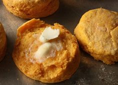 Sweet Potato Biscuits ~ yum!.