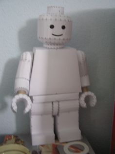 PEPAKURA - Lego Dude by distressfasirt