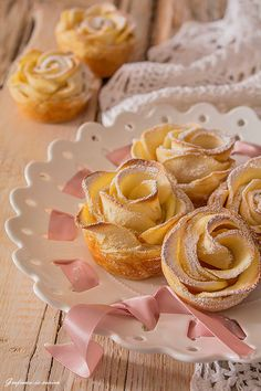 Puff Pastry Desserts, Mini Desserts, Low Carb Desserts, Just Desserts, Cake Recipes, Snack Recipes, Low Carb Bread, Low Carb Breakfast, Afternoon Tea