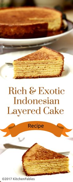 Lapis Leggit is an Indonesian Layered Cake. This is an Exotic Rich Cake, made and served on special occasions, especially Chinese New Year