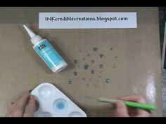 Crystal Effects How to make Rain Dots