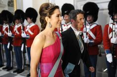 Crown Princess Mary and Crown Prince Frederik of Denmark