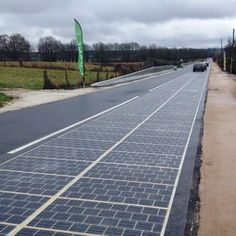 2,880 photovoltaic panels have been installed between the south exit of Route RD5 at Tourouvre to...
