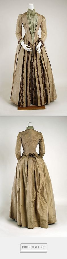 Thellier 1880-85 Dress | French | The Metropolitan Museum of Art